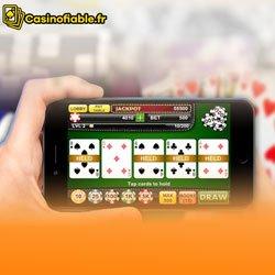 Le vidéo poker de casino mobile